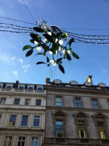 London's decorations for Christmas were wonderful.