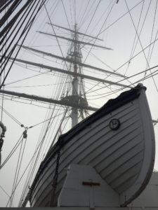 The Cutty Sark is listed as part of the National Historic Fleet. She is one of only three remaining original composite construction clipper ships from the 19th century.