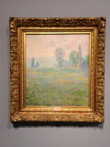 Here is another Monet showing his signature impressionist landscape.