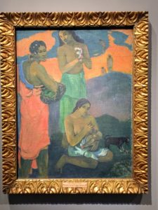 "Another painting my Paul Gauguin named ""Maternité"", 1899."