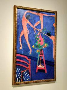 """This is """"Nasturtiums and 'La Danse II'"""" 1912 by artist, Henri Matisse."""