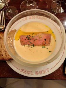 We enjoyed lunch at Le Bistrot Paris. http://www.lebistrotdeparis.com