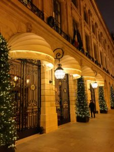 That evening, we returned to the Hotel Ritz Paris for our own New Year's Eve celebration. http://ritzparis.com/en-GB