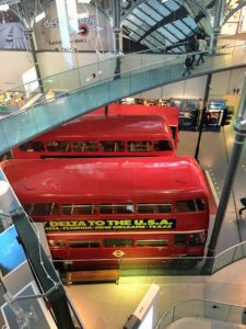 On display are many examples of buses, trams, trolleybuses and rail vehicles from the 19th and 20th centuries as well as artifacts related to the operation of passenger services and the impact transportation has had on the city and its population.