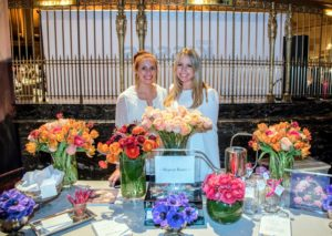 Jennifer Grove, founder and CEO of Repeat Roses  brought us this floral display.  (Photo by Chudleigh Weddings) http://www.repeatroses.com