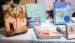 There were also lots of ideas for destination weddings and honeymoon spots from Luxury Destination Travel.  (Photo by Chudleigh Weddings)