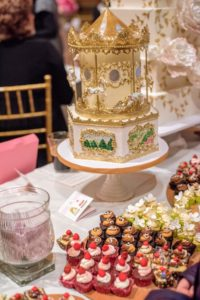 These cakes are from Cake Alchemy, a wonderful New York cake business.  (Photo by Chudleigh Weddings) http://www.cakealchemy.com Cake Alchemy