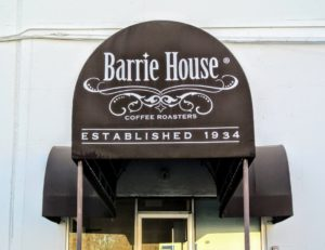 This is the the entrance to Barrie House Coffee Roasters in Elmsford, New York. Barrie House makes the single serve cups for ULIVjava - I am glad to know their cups are recyclable and environmentally friendly. https://www.barriehouse.com