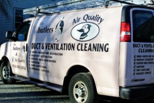 Our friends at The Butlers & Air Quality in Yorktown Heights, New York, came out to the farm to service all the ducts and vents. This company is a family-owned and operated business that has been covering the area since 1982. http://www.thebutlersairquality.com