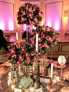 This beautiful centerpiece was by Randall Gibeau Design LLC.