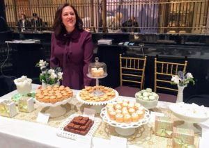 Here is Dawn Casale from One Girl Cookies - hard to pass up a stop at her table - everything looks so delicious.