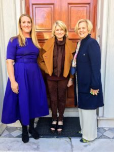 Here I am with Kitty, and Lauren, who gave us a wonderful and informative tour of the house. The Historic Charleston Foundation is currently doing a soft furnishing project of the Nathaniel Russell House museum.