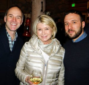 I posed for this photo with Viacom SVP brand & consumer insights, Michael Desmarais, and Jon Mallow, SVP connected content at Viacom.