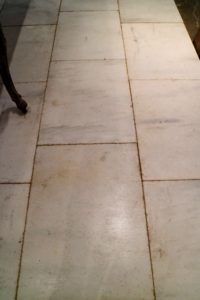 "This is marble flooring from Chateau Domingue's ""Bastide Collection""."