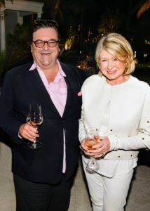 On our last night in the area, we attended a party at Sant Ambroeus in Palm Beach, hosted by Whispering Angel Rosé King, Sacha Lichine. Here I am with Sacha. (Photo by Annie Watt)