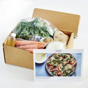 Each meal kit comes with a large-print, easy-to-follow recipe card that guides home cooks through six simple steps – all our meals can be made in minutes.