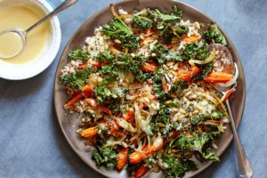 And if you like kale, you will love this Roasted Carrot and Crispy Kale Grain Salad.