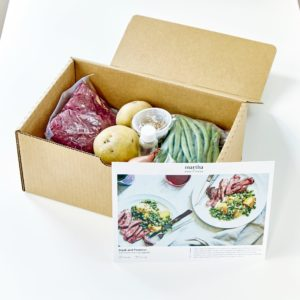 Buy your Martha & Marley Spoon meal-kit through AmazonFresh today! It's an excellent service for on-the-go families that want good, interesting, time-saving meals. goo.gl/g8Rgwh