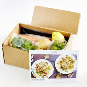 And there is no confusion - everything is organized for you in the box. I love how many images are provided on the recipe cards, so you can see exactly what each stage of your meal should look like.