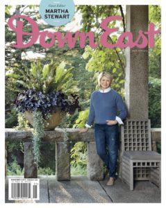 Do you have a copy of the April/May issue of Down East? Here I am on the cover. This photo was taken at Skylands, my home in Maine. Get a special subscription offer by clicking on this link. goo.gl/xqNsQj (Photo by Pieter Estersohn; cover courtesy of Down East)
