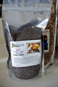 The Tonic Seed blend is a soft black oily seed with thin, brittle hulls that are perfect for youngsters whose beaks are not strong enough to crack hard seeds.