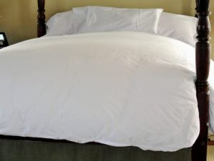 My bedding is very comfortable and practical. I am fortunate to have my bedding changed every couple of days.  How often do you change your bedding? I am interested to know - share in the comments below.