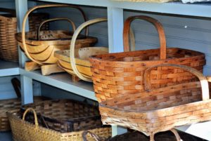 Here are a few gathering baskets.