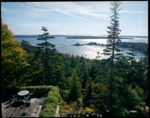 I also talk about Skylands, my home on Mount Desert Island. It is very special to me - the views of Seal Harbor from my large terrace are spectacular.
