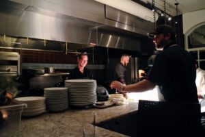 Buccan features progressive American cuisine. Here is a peek into the kitchen.