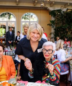 I also bumped in to Iris Apfel, a businesswoman, interior designer, and fashion icon. It was a nice event. We were asked not to take photos inside Palm Beach's Everglades Club, where we had lunch, but there are beautiful photos of this historic space online.