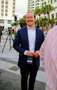 Our own Yehuda Shmidman, chief executive officer at Sequential Brands Group, Inc. was also in Miami for the Festival.