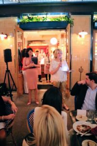 I stopped to welcome everyone to Le Zoo for the dinner and shared some of my favorite SOBE memories.