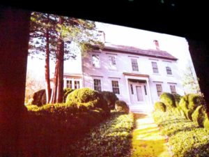 During my presentation, I showed many slides. This is my Westport, Connecticut home, Turkey Hill, which I sold more than 10-years ago. I talked about the gardens I developed over the years - at Turkey Hill, at my Bedford, New York farm, and at Skylands, my home in Maine.