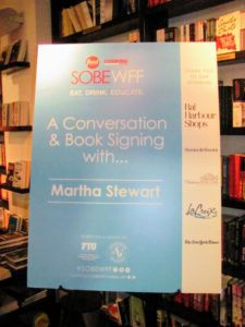As part of the Festival events, I also spoke at Books & Books, Bal Harbour Shops, and conducted a book signing.