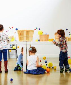 The children had so much fun making their own miniature solar systems.