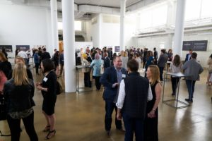 I was thrilled to see such an enthusiastic crowd - everyone is so excited about the launch of The Martha Stewart Wine Co. (Photo by Tony Gale)