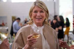 The Martha Stewart Wine Co. is designed so you can enjoy the perfect wine at every occasion! Cin Cin! (Photo by Tony Gale)