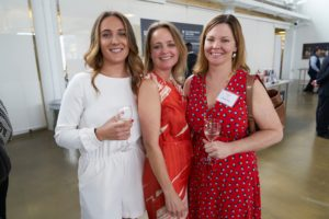 Our own team also enjoyed the event. Here are Alexa Stark, Heather Kirkland and Rebecca Patrick. (Photo by Tony Gale)