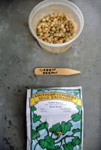 'Green Arrow' peas from Southern Exposure Seed Exchange are ultra sweet. The plant is very strong and tolerates certain diseases, such as powdery mildew. http://www.southernexposure.com