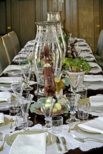 Laura and Ryan always create such beautiful tables for my parties - and every one, always a little different.