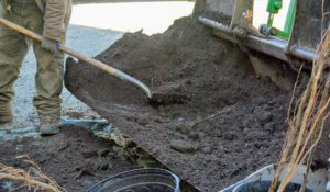 """We use what I call """"black gold"""" composted manure. Composting manure above 131-degrees Fahrenheit for at least a couple weeks will kill harmful pathogens, dilute ammonia, stabilize nitrogen, kill weed seeds and reduce any objectionable odors."""
