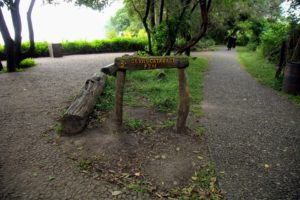 This post marks the middle of the Falls - Devil's Cataract.