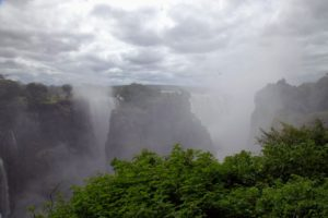 Here is another beautiful view of the Falls as they drop down into the Gorge.