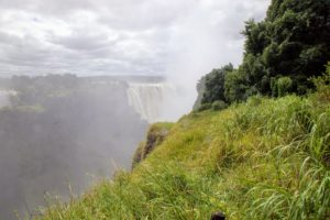 Of the two sides - Zambia and Zimbabwe, the Zimbabwean side of the Falls is the best place to view the Falls face on.