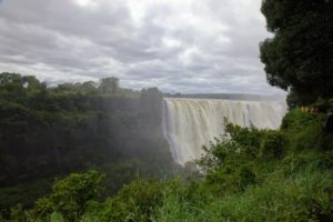 The Victoria Falls was declared as a World Heritage Site in 1989 for being one of the most spectacular waterfalls in the world.