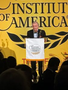 Here is Chef Jacques Pepin, an internationally recognized French chef, television personality, and author.