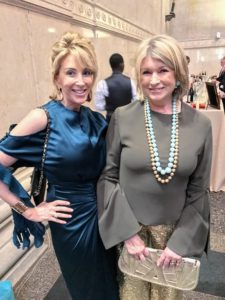 Here I am with our new CEO of Sequential Brands Group, Karen Murray.