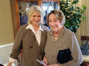 Here I am with Arline Croce - she's the grandmother of our PR manager, Alexa Stark.