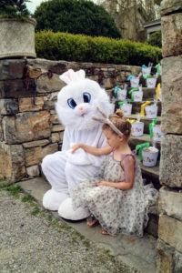 Here is Jude with the Easter Bunny. Everyone loves the Ester Bunny.