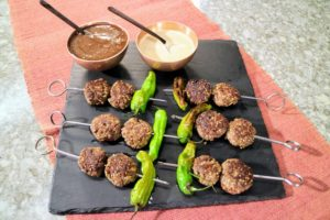 And, I show you some exotic flavors you can introduce to guests during your next cookout. Your friends and family will love our kababs.